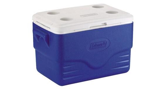 Coleman 36QT Koelbox blauw/wit